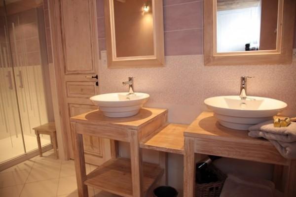 salle d'eau chambres d'hotes nantes