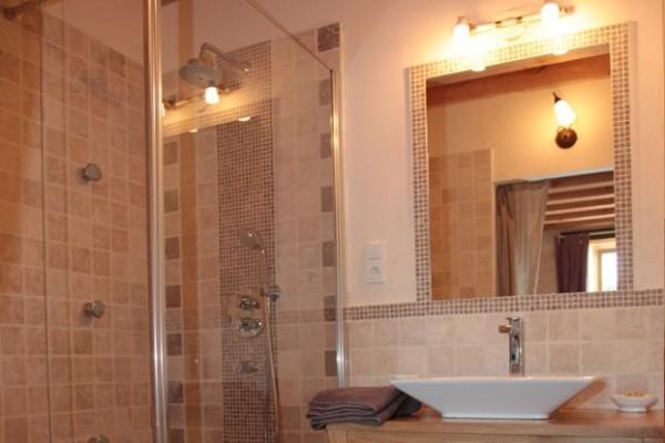 Salle de bains chambres d'hotes Nantes