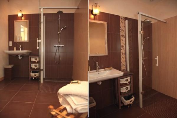 douche et salle d eau handicapée